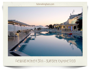 Aegialis-Hotel-and-Spa--sunset-by-the-pool