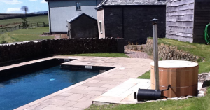 Hot-Tub-Natsley-Farm-Devon-Holiday-Accommodation